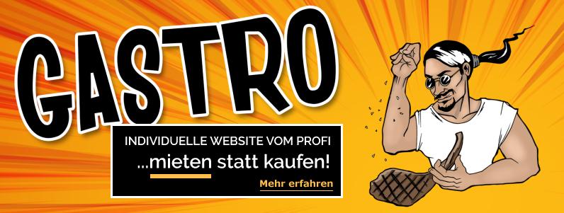 Gastro Website Ratenzahlung